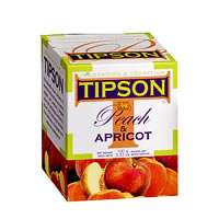 Tipson Peach & Apricot Loose Leaf Tea 100 gm
