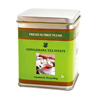 Gopaldhara Premium First Flush Tea, Loose Leaf 100 gm Caddy