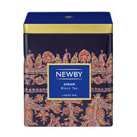 Newby Classic Assam Loose Leaf Black Tea, 125 gm Caddy
