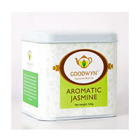 Goodwyn Aromatic Jasmine Loose Leaf Tea 100 gm Caddy