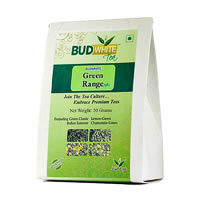 Budwhite Green Range Organic Loose Leaf Tea 50 gm