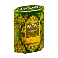 Vazar Mojito Tea Cocktail Loose Leaf 100 gm Caddy