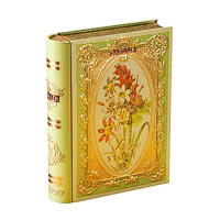 Basilur Love Story Tea Book Volume I Loose Leaf 100 gm Caddy