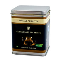 Gopaldhara Vintage Pearl Black Tea, Loose Leaf 50 gm Caddy