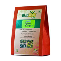 Budwhite Spices Range Organic Loose Leaf Tea 50 gm