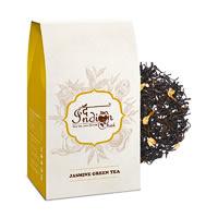 The Indian Chai - Jasmine Green Tea, Loose Whole Leaf 100 gm
