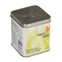 Happy Valley Organic Darjeeling Green Tea, Whole Leaf 100 gm