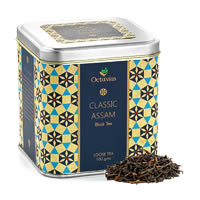 Octavius Classic Assam Black Tea, Loose Leaf 100 gm Premium Caddy