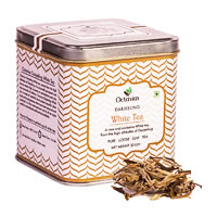 Octavius Darjeeling Silver Needle White Tea, Loose Whole Leaf 50 gm ...