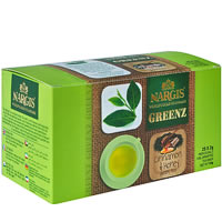 Nargis Greenz Cinnamon Honey Organic Green Tea (25 tea bags)