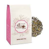 The Indian Chai - Choco Mint Black Tea (Premium Darjeeling), Loose Whole ...