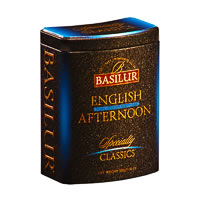 Basilur Specialty Classics English Afternoon Loose Tea 100 gm Caddy