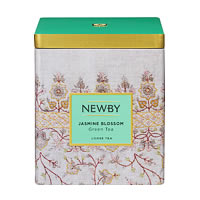 Newby Classic Jasmine Blossom Loose Leaf Green Tea, 125 gm Caddy