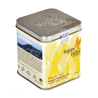 Happy Valley Organic Darjeeling Black Tea, Whole Leaf 100 gm