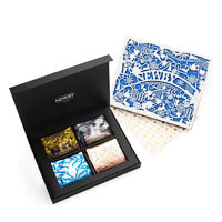 Newby Season's Greetings Silken Pyramids Selection - Gift Box (4x5 Pyramid ...