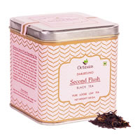 Octavius Darjeeling Second Flush Black Tea, Loose Whole Leaf 100 gm ...