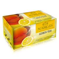 Nargis Lemon Loose Leaf Black Tea (25 tea bags)