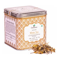 Octavius Assam Silver Needle White Tea, Loose Whole Leaf 50 gm Premium Caddy
