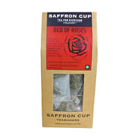 Saffron Cup Bed of Roses White Tea (15 Pyramid tea bags)