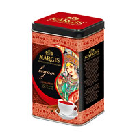 Nargis Begum Premium Assam Black Tea with Cinnamon , Loose Whole Leaf 200 ...