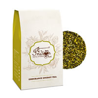 The Indian Chai - Endurance Energy Herbal Green Tea, Loose Whole Leaf 100 gm