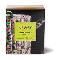 Newby Heritage Green Sencha Loose Leaf Tea, 100 gm Carton