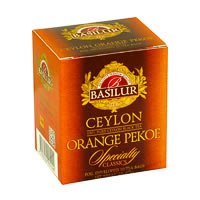 Basilur Specialty Classics Ceylon Orange Pekoe Tea (10 tea bags)