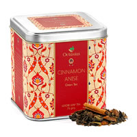 Octavius Green Tea with Cinnamon and Anise Flavour, Loose Leaf 75 gm ...