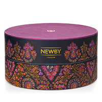 Newby Black Tea Crown Assortment - Circular Luxury Gift Box (36 finest tea ...