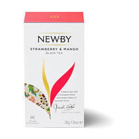 Newby Strawberry and Mango Black Tea (25 tea bags)