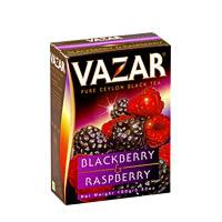 Vazar Blackberry & Raspberry Black Tea, Loose Leaf 100 gm