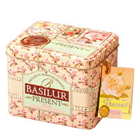 Basilur Festival Present - Pink, Loose Leaf Tea 100 gm Caddy