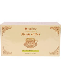 Sublime White Tea with Raspberry (25 Pyramid tea bags)