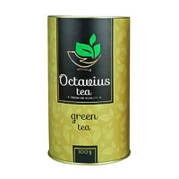 Octavius Whole Leaf Darjeeling Green Tea - Premium Gift Caddy, 100 gm