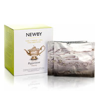 Newby Silken Pyramids - Peppermint Tea (10 Pyramid tea bags)