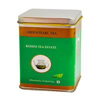 Rohini Green Pearl Tea, Loose Leaf 50 gm Caddy