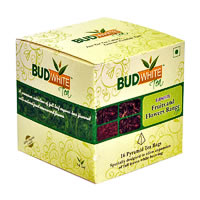 Budwhite Fruits and Flowers Tea Combo (16 Pyramid tea bags)