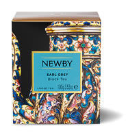 Newby Heritage Earl Grey Loose Leaf Tea, 100 gm Carton
