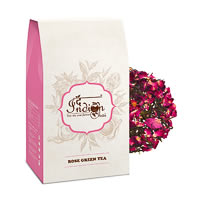The Indian Chai - Rose Herbal Green Tea (Darjeeling), Loose Whole Leaf 100 gm