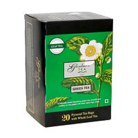 Glenburn Green Tea, Whole Leaf (20 Pyramid tea bags)
