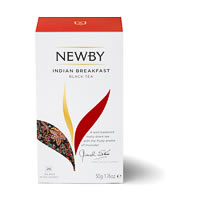 Newby Indian Breakfast Black Tea (25 tea bags)