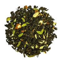 teaGraft Kashmiri Kahwah Green Tea, Loose Whole Leaf 50 gm
