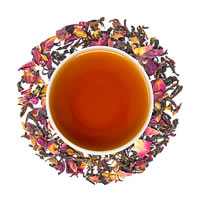 Danta Herbs Rose Cinnamon Black Tea, Loose Leaf 100 gm