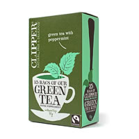 Clipper Green Tea with Peppermint (25 tea bags)