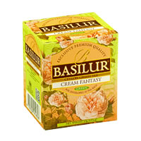 Basilur Bouquet Cream Fantasy Tea (10 tea bags)