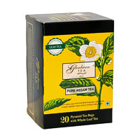 Glenburn Pure Assam Tea, Whole Leaf (20 Pyramid tea bags)