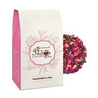 The Indian Chai - Valentines Rose Petals Black Tea, Loose Whole Leaf 100 gm