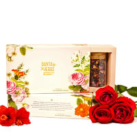 Danta Herbs Ikebana - Enchanting Florals Tea Gift Box, 60 gm