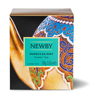 Newby Heritage Moroccan Mint Loose Leaf Green Tea, 100 gm Carton