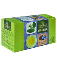 Nargis Greenz Earl Grey Organic Green Tea (25 tea bags)